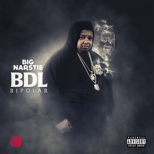 Album cover for BDL Bipolar by Big Narstie