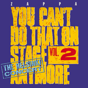 You Can't Do That On Stage Anymore, Vol. 2 - The Helsinki Concert Albumcover