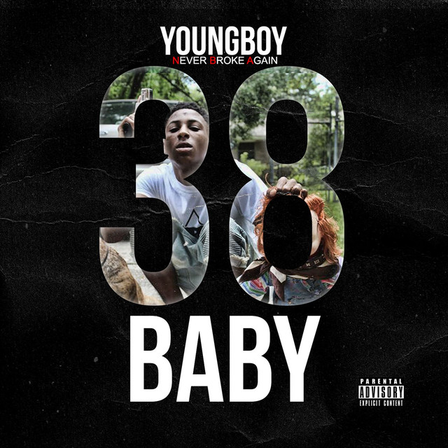 Album cover for 38 Baby by Youngboy Never Broke Again