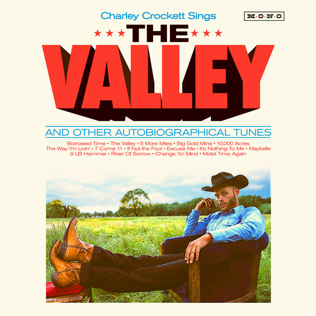 Album cover for The Valley by Charley Crockett