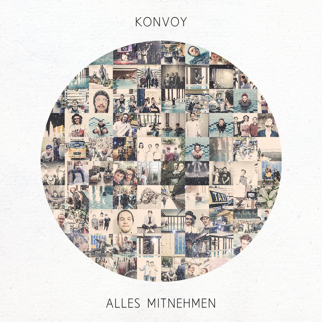 Album cover for Alles mitnehmen by Konvoy