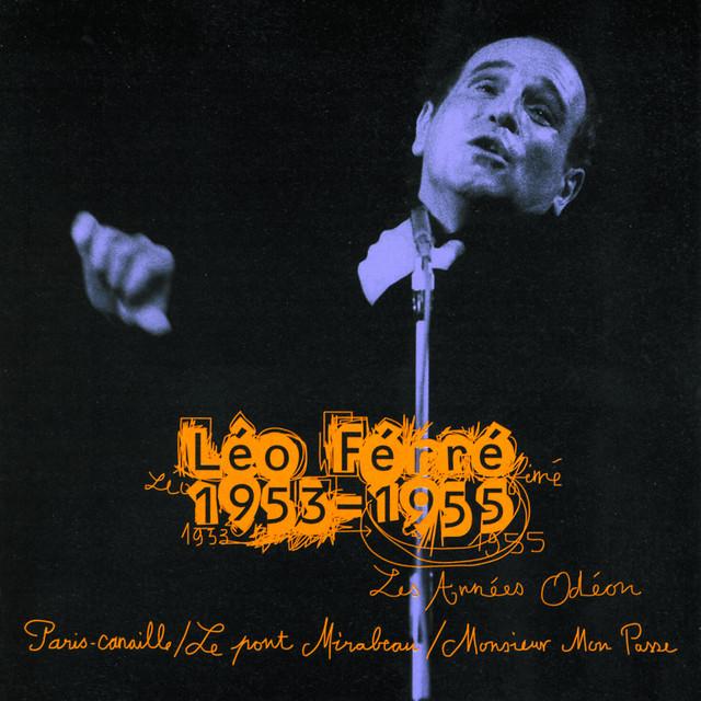 Léo Ferré Les Années Odéon : 1953-1955 album cover