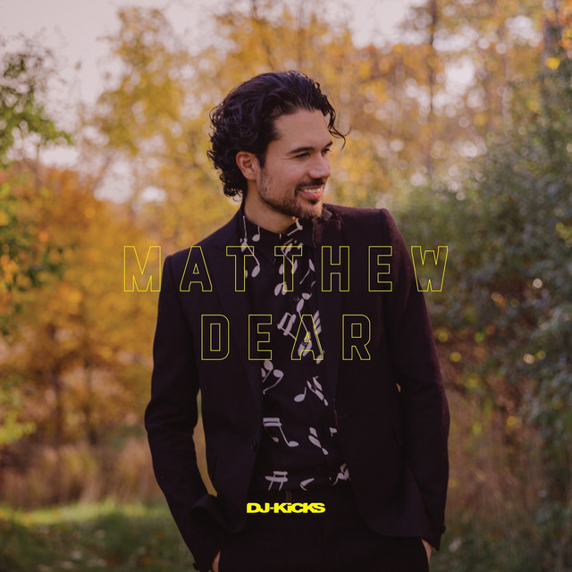Album cover for DJ-Kicks (Matthew Dear) [Mixed Tracks] by Matthew Dear