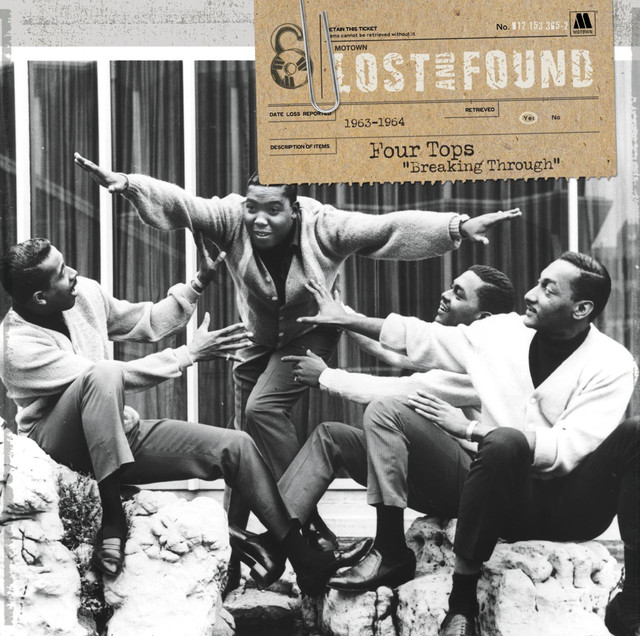 "Lost And Found: Four Tops ""Breaking Through"" (1963-1964)"
