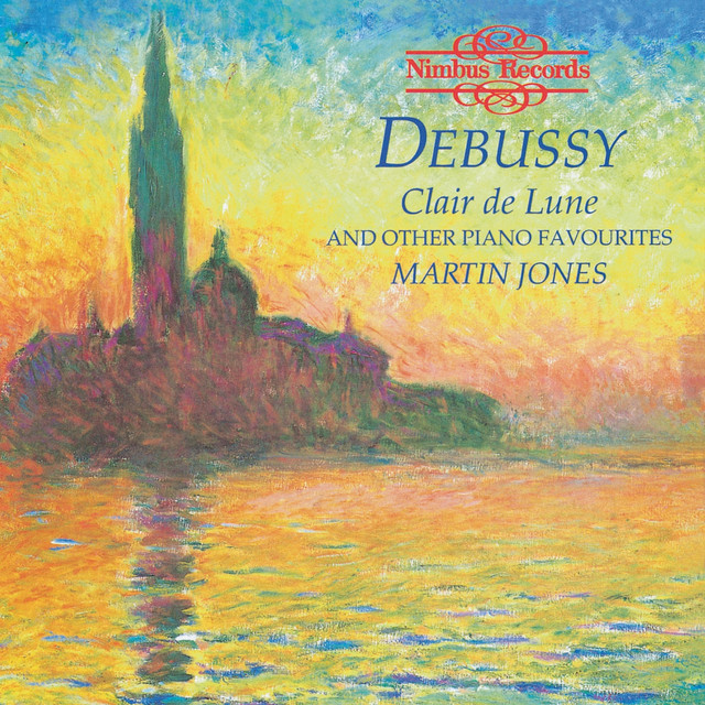 Debussy: Clair De Lune and Other Piano Favourites Albumcover