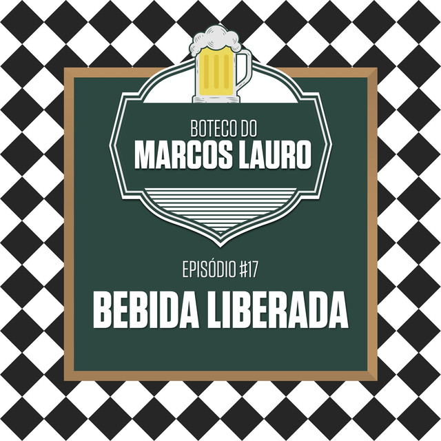 Album cover for Bebida Liberada by Marcos Lauro