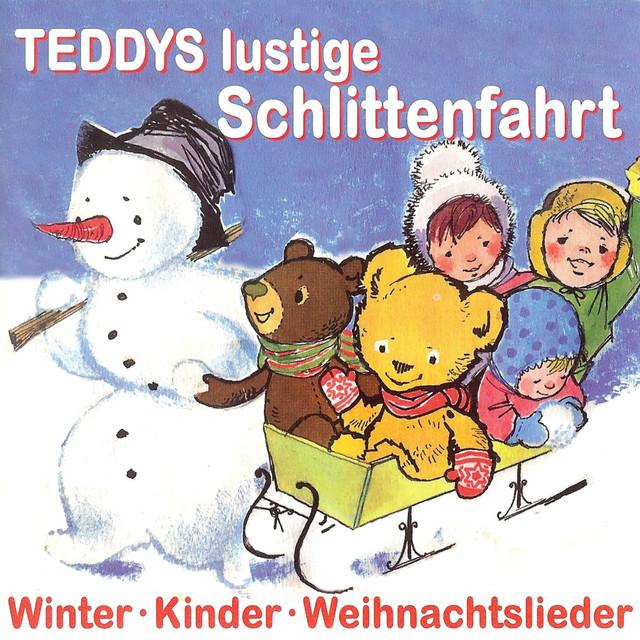 Lustige Weihnachtslieder Für Kinder.Teddys Lustige Schlittenfahrt Kinder Winter Weihnachtslieder