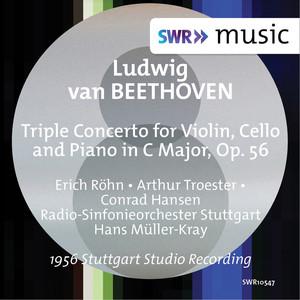 Beethoven: Triple Concerto, Op. 56 (Live) Albümü