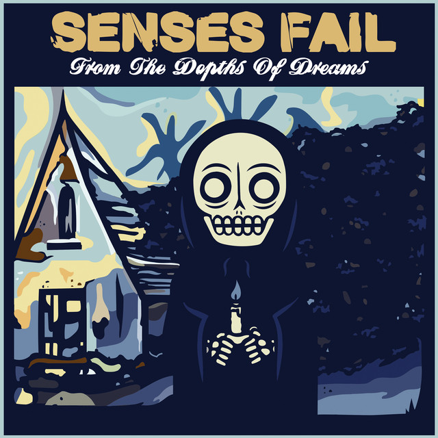 Album cover for From the Depths of Dreams by Senses Fail