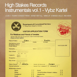 High Stakes Records Instrumentals, Vol. 1 Albümü