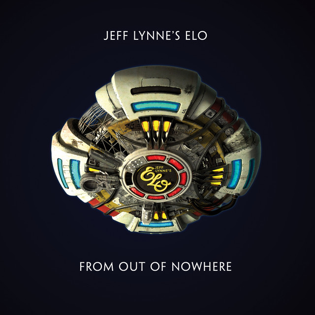 Album cover for Jeff Lynne's ELO - From Out Of Nowhere by Electric Light Orchestra