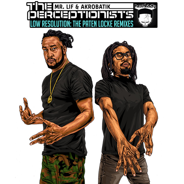 Album cover for Low Resolution by The Perceptionists