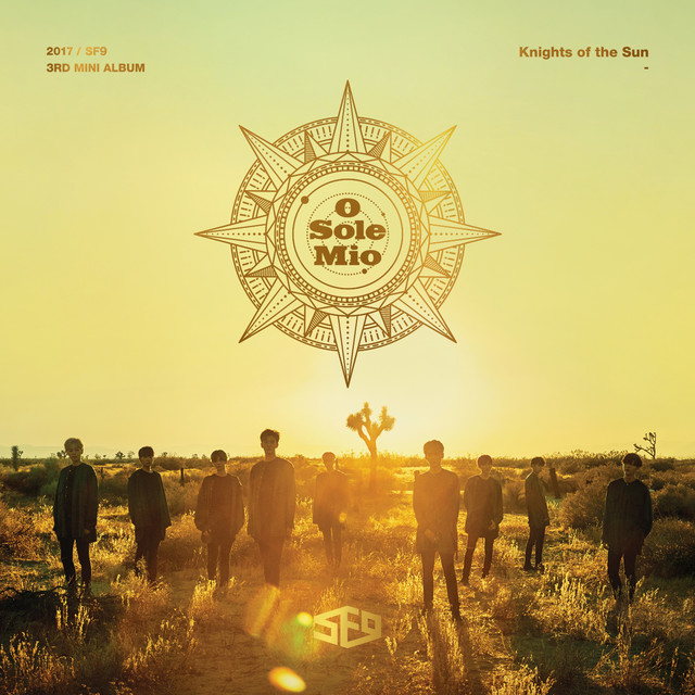 SF9 3rd Mini Album [ Knights of the Sun ]