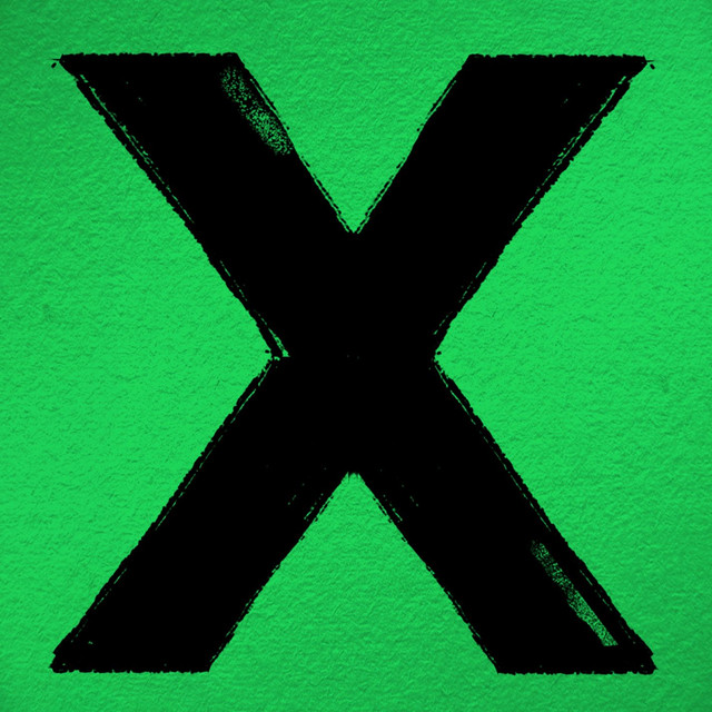 Ed Sheeran x album cover