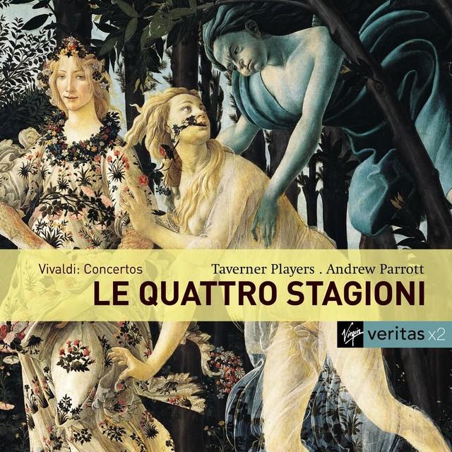 Vivaldi: Four Seasons etc. Albumcover