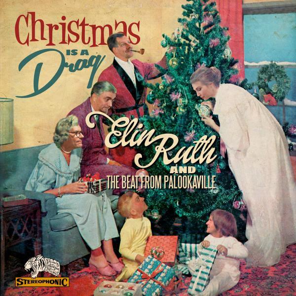Skivomslag för Elin Ruth: Christmas Is A Drag