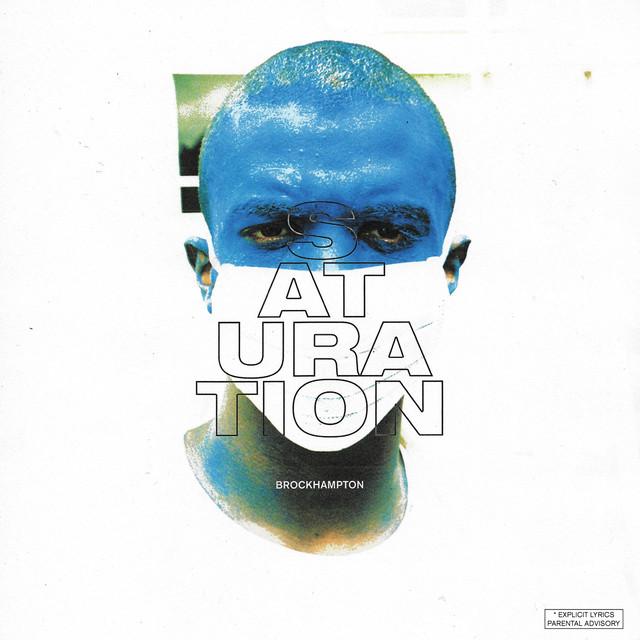 Album cover for SATURATION by BROCKHAMPTON