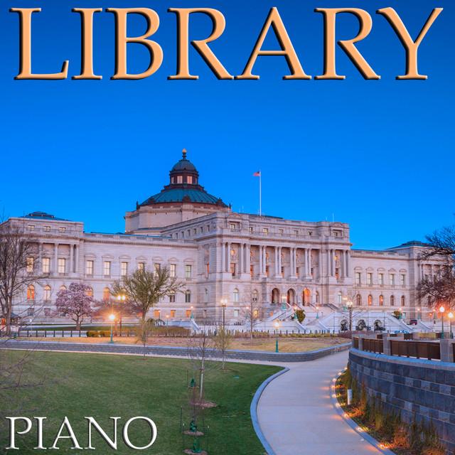 Library Piano Albumcover