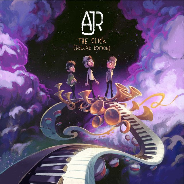 Album cover for The Click (Deluxe Edition) by AJR