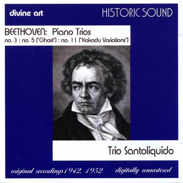 BEETHOVEN, L. van: Piano Trios Nos. 3, 5, 11 Albumcover