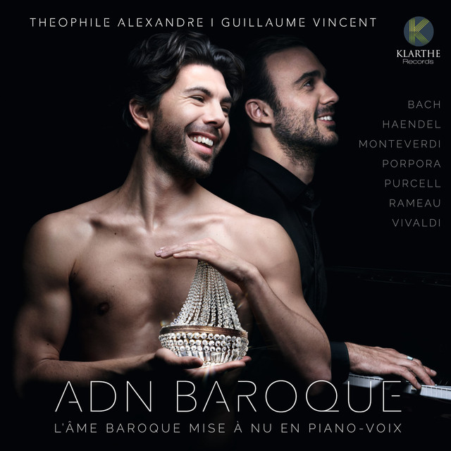 Album cover for ADN Baroque by Guillaume Vincent, Theophile Alexandre