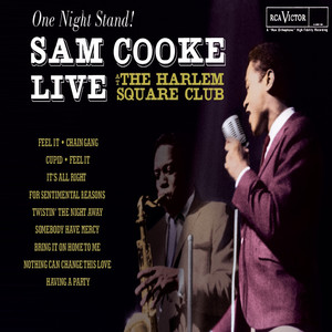 One Night Stand - Sam Cooke Live At The Harlem Square Club, 1963 Albumcover