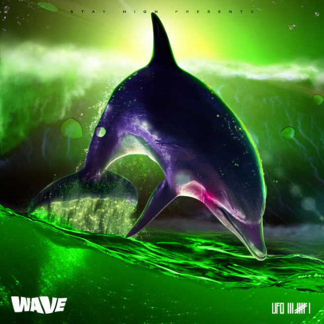 Album cover for WAVE by Ufo361
