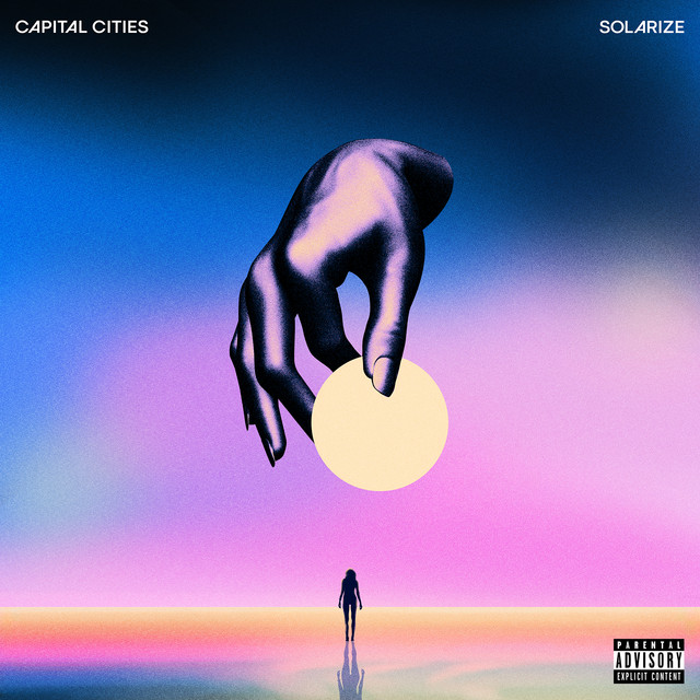 Album cover for Solarize by Capital Cities