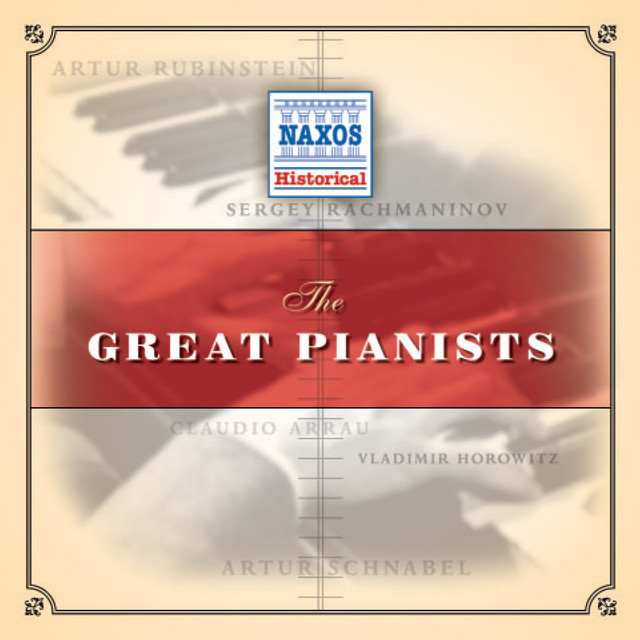 Great Pianists (1926-1945) Albumcover