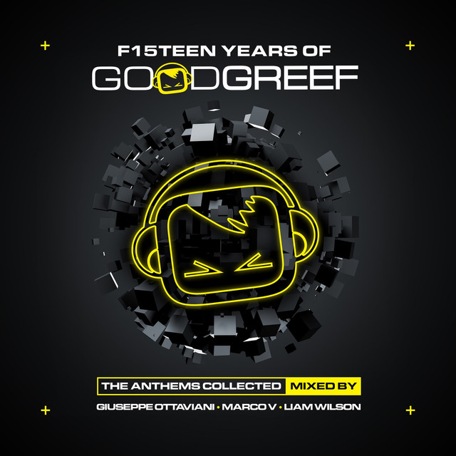 F15teen Years of Goodgreef (The Anthems Collected) Albumcover
