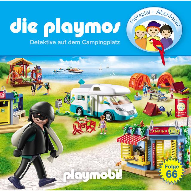 Album cover for Folge 66: Detektive auf dem Campingplatz (Das Original Playmobil Hörspiel) by Die Playmos