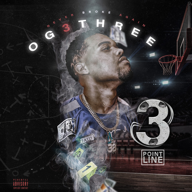 Album cover for 3 Point Line by OG 3Three