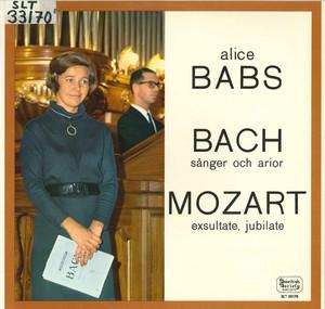 Bach & Mozart: Works for Voice album