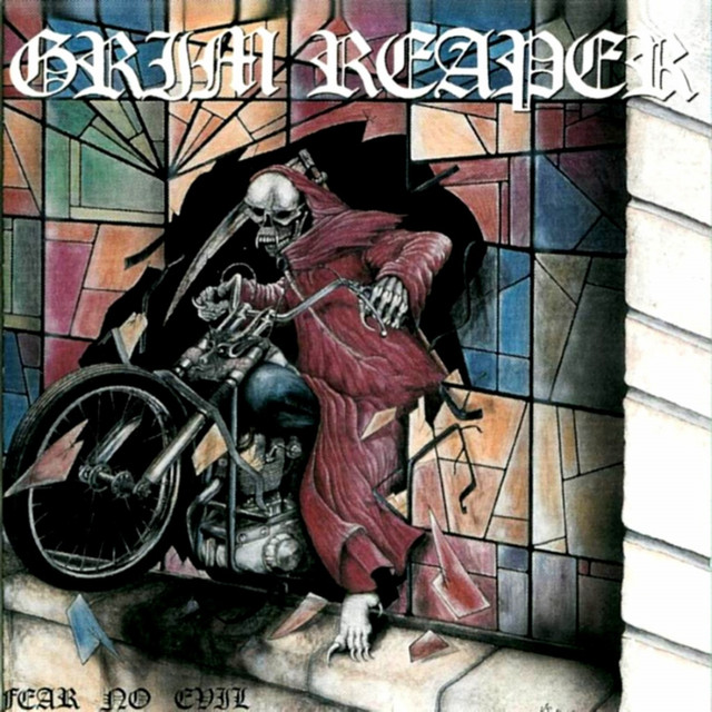 Grim Reaper Fear No Evil album cover