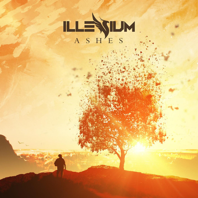 Album cover for Ashes by Illenium