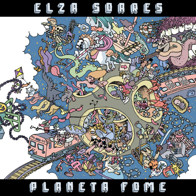 Album cover for Planeta Fome by Elza Soares