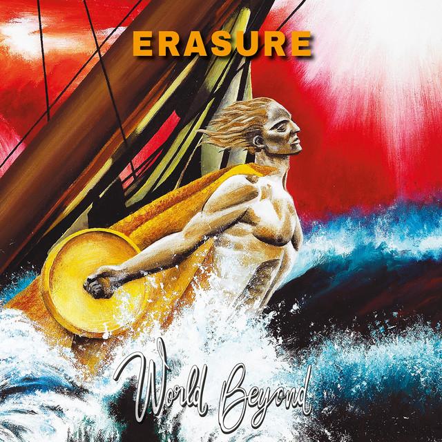 Skivomslag för Erasure: World Beyond