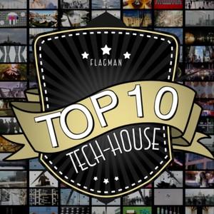 Flagman Top 10 Tech-House Albumcover