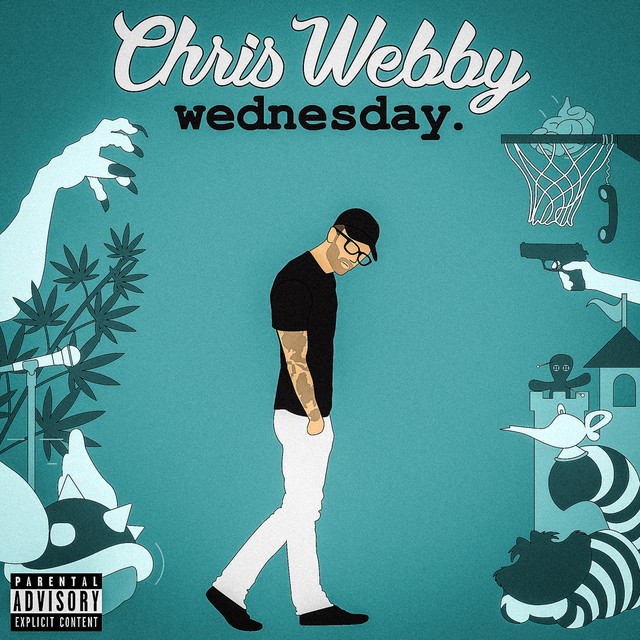 Album cover for Wednesday by Chris Webby