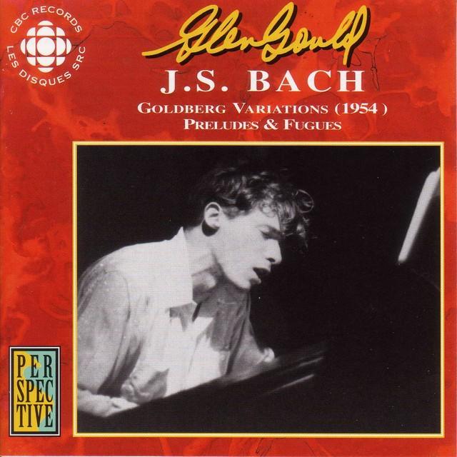 Gould, Glenn: Original Cbc Broadcasts - Bach, J.S. Albumcover