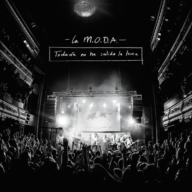Album cover for Todavía No Ha Salido la Luna (Directo) by La Maravillosa Orquesta del Alcohol