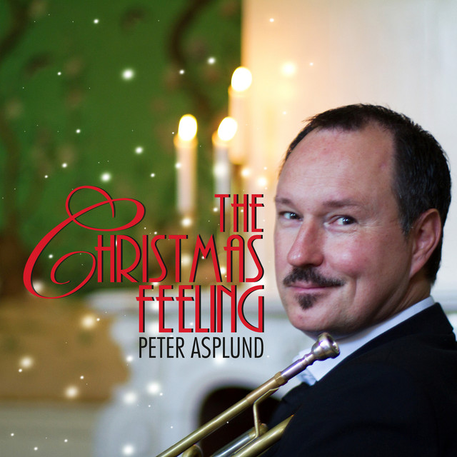 Skivomslag för Peter Asplund: The Christmas Feeling