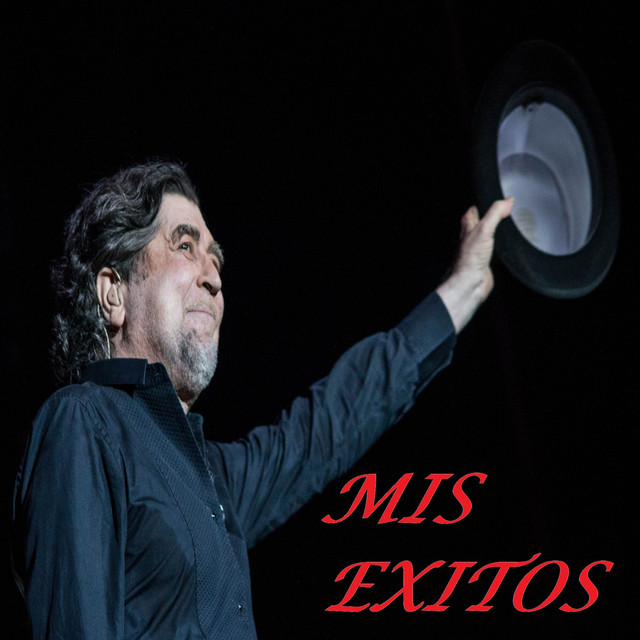 Album cover for Mis Exitos by Joaquín Sabina