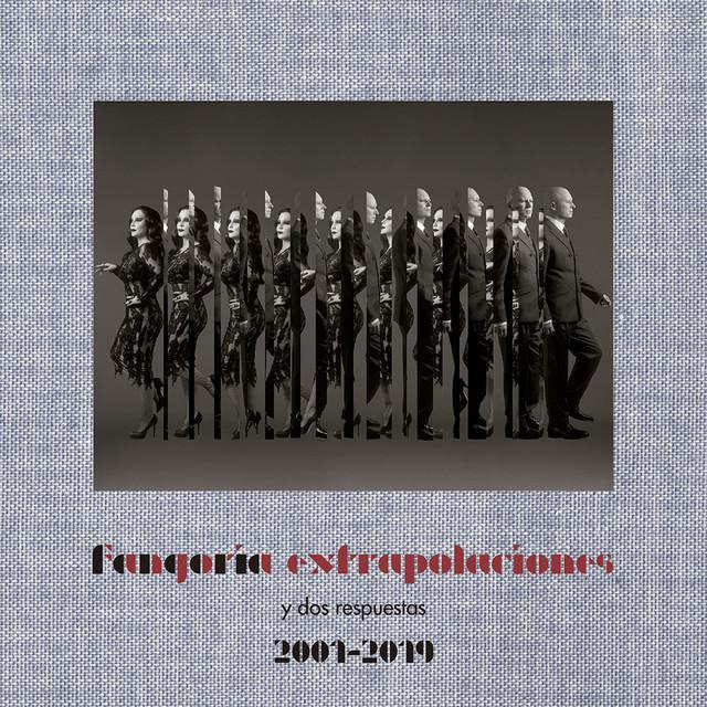 Album cover for Extrapolaciones y dos respuestas 2001-2019 by Fangoria