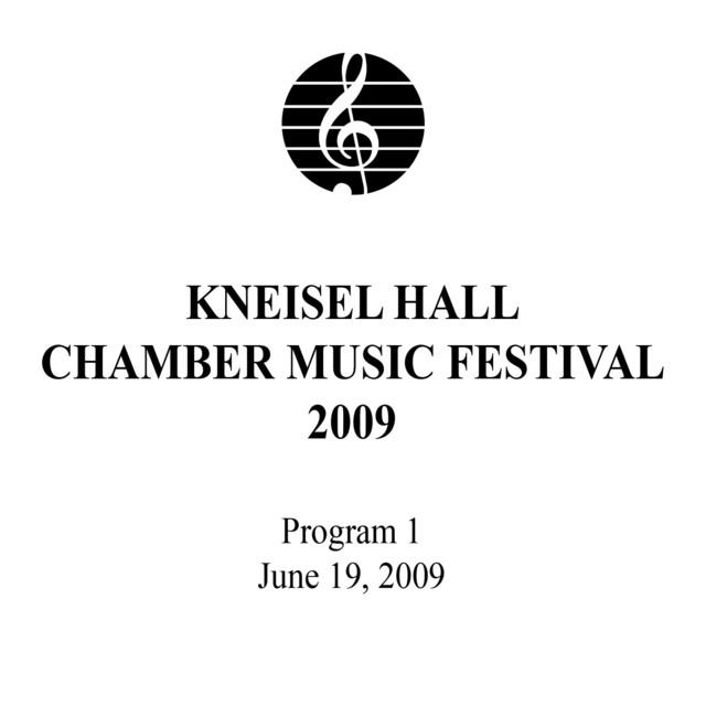 Kneisel Hall Program 1: June 19, 2009 Albumcover