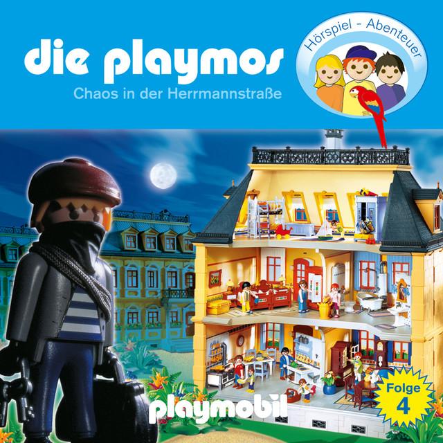 Folge 4: Chaos in der Herrmannstrasse (Das Original Playmobil Hörspiel) Cover