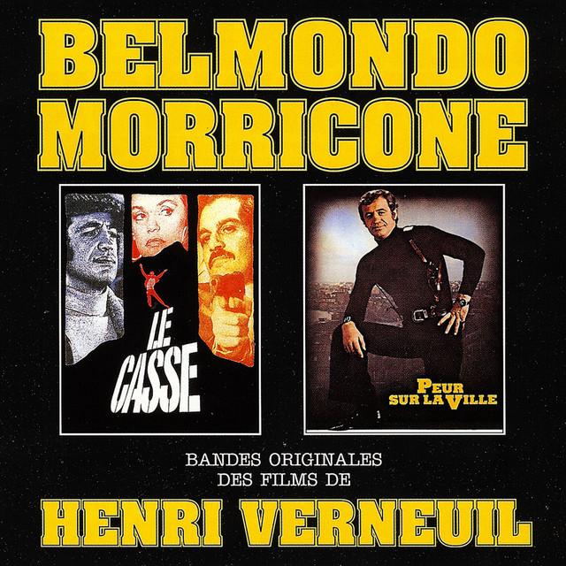 Le casse / Peur sur la ville (Bandes originales de films d'Henri Verneuil) Albumcover