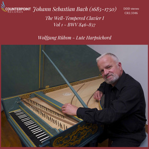 Bach: The Well-Tempered Clavier, Vol. 1, BWV 846-857 album