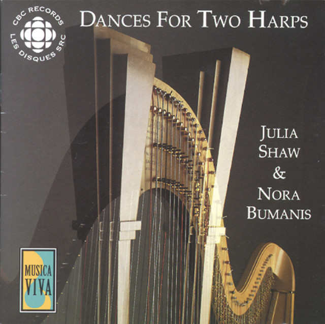 Dvorak / Bach / Satie: Dances for 2 Harps Albumcover