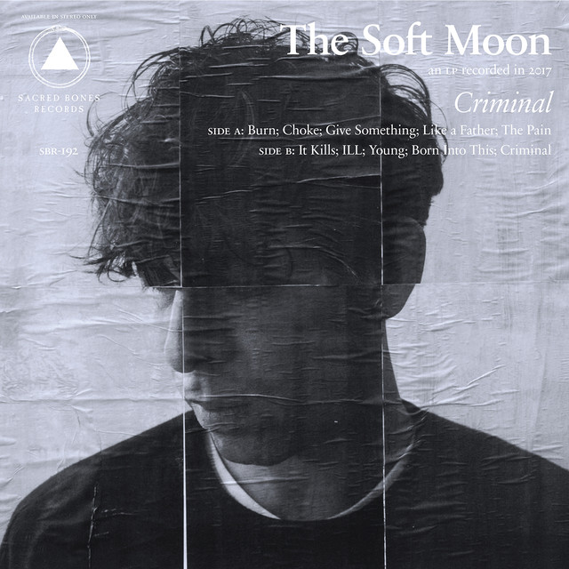 Album cover for Criminal by The Soft Moon